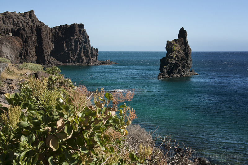 Roque de la Bonanza is a rock formation off the eastern coast of El Hierro